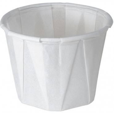 Paper Souffle Cup, 1 Oz., Regular, White Part No. 90204 (1/ea)