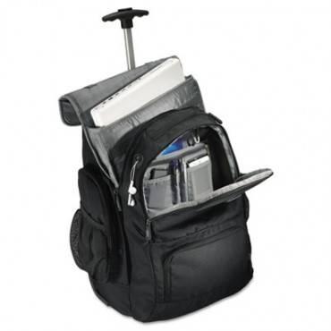 Samsonite  Rolling Backpack, 14 X 8 X 21, Black/Charcoal