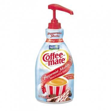 Coffee Mate  Liquid Coffee Creamer, Peppermint Mocha, 1500ml Pump Bottle