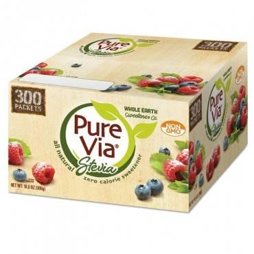 Pure Via  Zero Calorie Sweetener, 300/Box