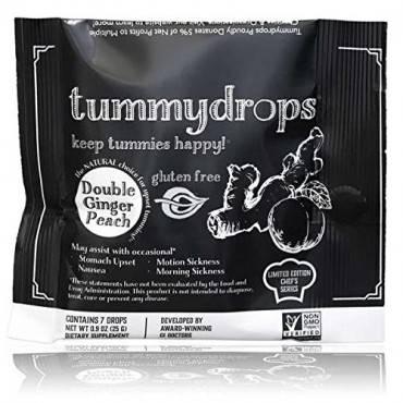 Tummydrops - Chefs Series - Double Ginger Peach - .9 oz