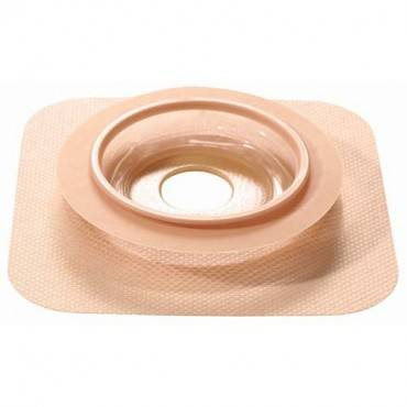 "Natura Moldable Stomahesive Skin Barrier Accordian Flange 2-1/4"" (57mm) With Hydrocolloid Flexible Collar (10/Box)"