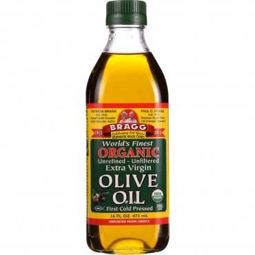 Bragg - Olive Oil - Organic - Extra Virgin - 16 Oz - Case Of 12