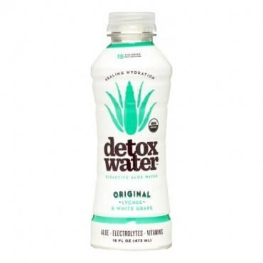 Detox Water Original Detox Water - Lychee And White Grape - Case Of 12 - 16 Fl Oz.
