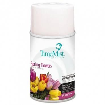 Premium Metered Air Freshener Refill, Spring Flowers, 6.6 Oz, Aerosol