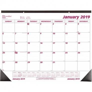 Brownline Professional Monthly Desk/Wall Calendar (EA/EACH)