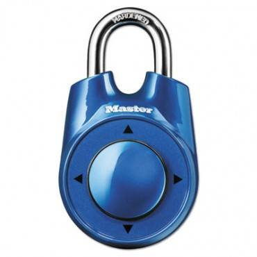 """Master Lock  Speed Dial Set-Your-Own Combination Lock, 2"""" Wide, Assorted"""