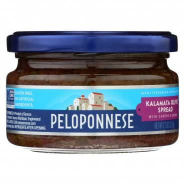 Peloponnese Kalamata Olive Spread - Case Of 6 - 7.5 Oz.