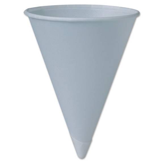 Solo Cup Company Bare Treated Paper Cone Water Cups 6 Oz