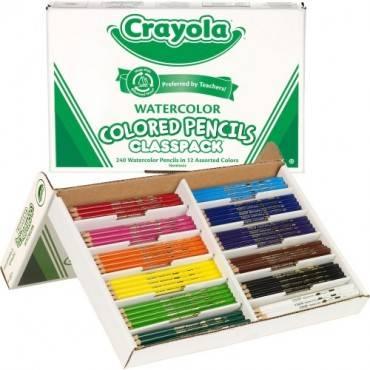 Crayola Classpack Watercolor Pencil Set (BX/BOX)