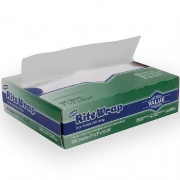 RITE-WRAP DRY WAX DELI  PPR 8X10.75 12/500