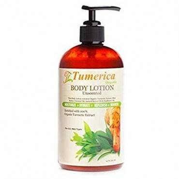 Tumerica Hand and Body Lotion - Moisturizing - Unscented - 15 oz