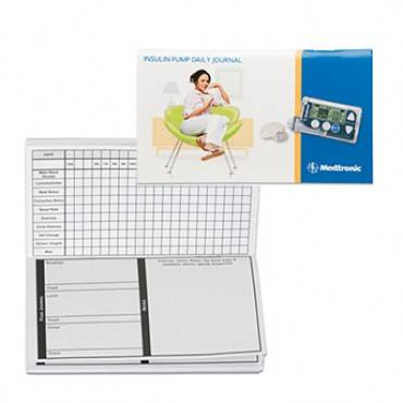 Insulin Pump Therapy Record Book (pack of 1)