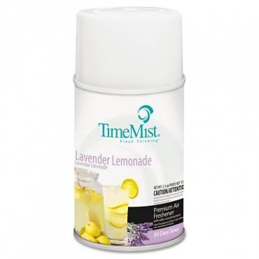 Premium Metered Air Freshener Refill, Lavender Lemonade, 5.3 Oz Aerosol, 12/carton