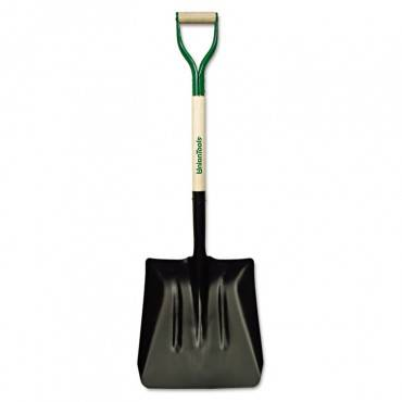 Steel Coal Shovel, D-Handle, #2, 27in Handle