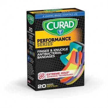 Curad Finger/Knuckle Antibactrl Bandages (BX/BOX)