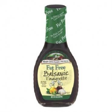 Maple Grove Farms - Fat Free Salad Dressing - Balsamic Vinaigrette - Case Of 12 - 8 Oz.