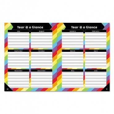 "Carson Dellosa Publishing TEACHER PLANNERS, 8.5"" X 11"", BLACK, CDP105000 1 Each"