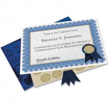 Geographics Custom Print Award Certificates Kit (PK/PACKAGE)