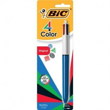 BIC 4-Color Retractable Pen (PK/PACKAGE)