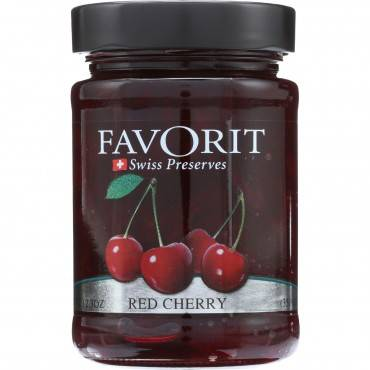 Favorit Preserves - Swiss - Red Cherry - 12.3 Oz - Case Of 6