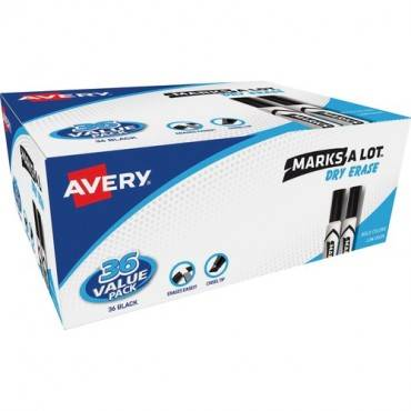 Avery® Desk Style Dry Erase Markers (BX/BOX)