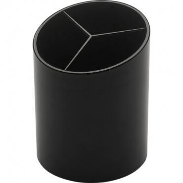 Business Source Large 3-Compartment Plastic Pencil Cup (EA/EACH)