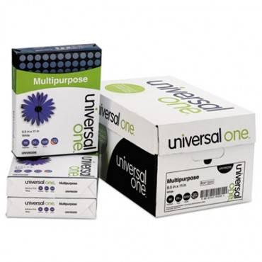 Universal  Multipurpose Paper, 98 Brightness, 20lb, 8-1/2 X 11, Bright White, 5000 Shts/Ctn