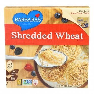Barbara's Bakery - Shredded Wheat - Case Of 12 - 13 Oz.