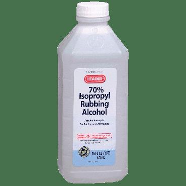 70% Rubbing Alcohol, 16 oz. Part No. 1379973 Qty 1