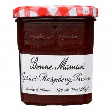 Bonne Maman - Conserve - Apricot Raspberry - Case Of 6 - 13 Oz.