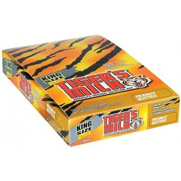 Tigers Milk Bar - Peanut Butter - King Size - 1.94 oz - 1 Case