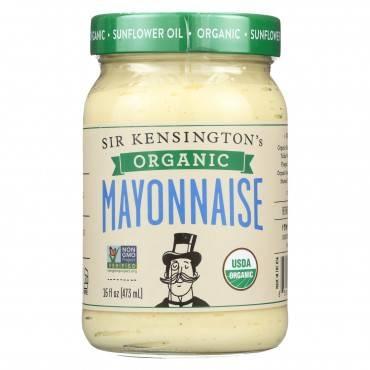 Sir Kensington's Organic Classic Mayonnaise - Case Of 6 - 16 Fl Oz.